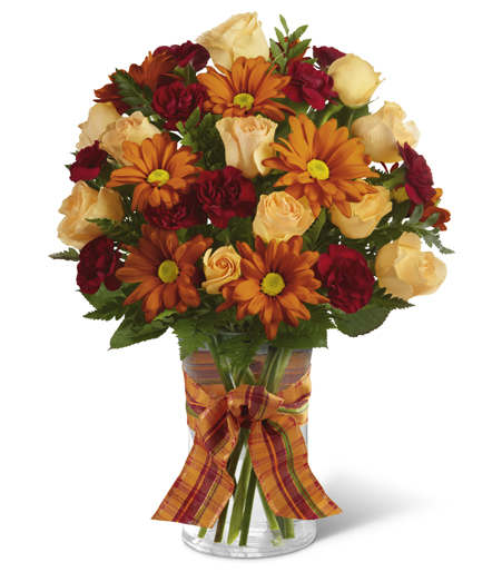 The Golden Autumn Bouquet